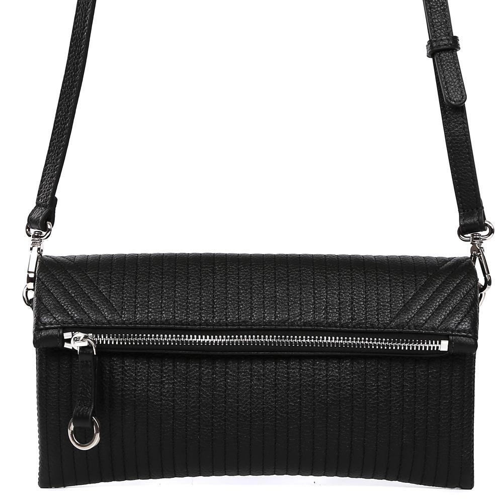 Сумка женская Palio, цвет: черный. 15050A1-W1-018/01815050A1-W1-018/018 blackИзящная женская сумка кросс-боди Palio выполнена из натуральной плотной кожи , которая держит форму и имеет мягкую и приятную на ощупь фактуру. Классический черный цвет, стильная геометрическая строчка на коже и строгий дизайн помогут дополнить и завершить любой утонченный образ. Аккуратная тонкая ручка и стильный кожаный поводок с металлической фурнитурой превращают модель в модный аксессуар, который понравится любительницам лаконичных аксессуаров для прогулок и деловых встреч. Кросс-боди имеет два отделения, которые закрываются на прочную магнитную застежку. Внутри сумки вы с легкостью сможете расположить свой сотовый телефон и другие женские мелочи с помощью удобных карманов. Плечевой ремень регулируется и отстегивается, поэтому аксессуар можно носить как элегантный клатч.