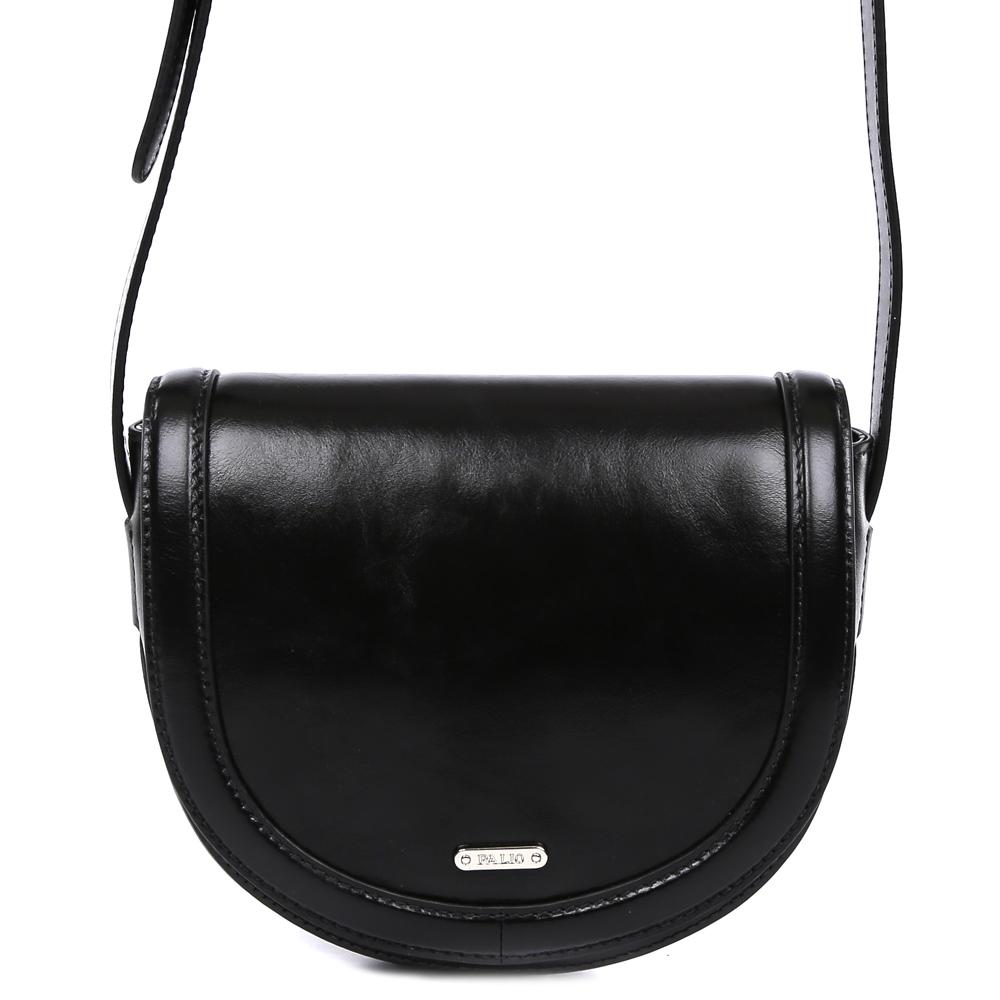 Сумка женская Palio, цвет: черный. 15036A-W1-018/01815036A-W1-018/018 blackКлассическая женская сумка кросс-боди Palio выполнена из натуральной пористой кожи, которая держит форму и имеет мягкую фактуру. Насыщенный черный цвет, модная лаконичная форма и элегантная строчка на коже с легкостью дополнят и завершат Ваш элегантный образ. Аккуратная тонкая ручка и фурнитура в серебряном оттенке превращают модель в роскошный аксессуар, подходящий для любительниц как классических, так и современных стилей. Кросс-боди имеет одно вместительное отделение, которое закрывается на прочную молнию. Внутри сумки вы с легкостью сможете расположить свой сотовый телефон и другие женские мелочи с помощью удобных карманов. Модель не вмещает формат A4, длина ручки регулируется.