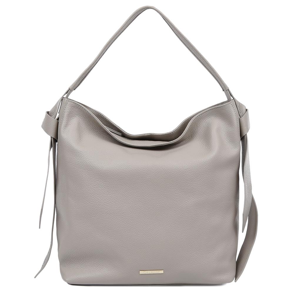 Сумка женская Galaday, цвет: серый. GD7082QGD7082Q-greyСумка женская бренда GALADAY из натуральной кожи