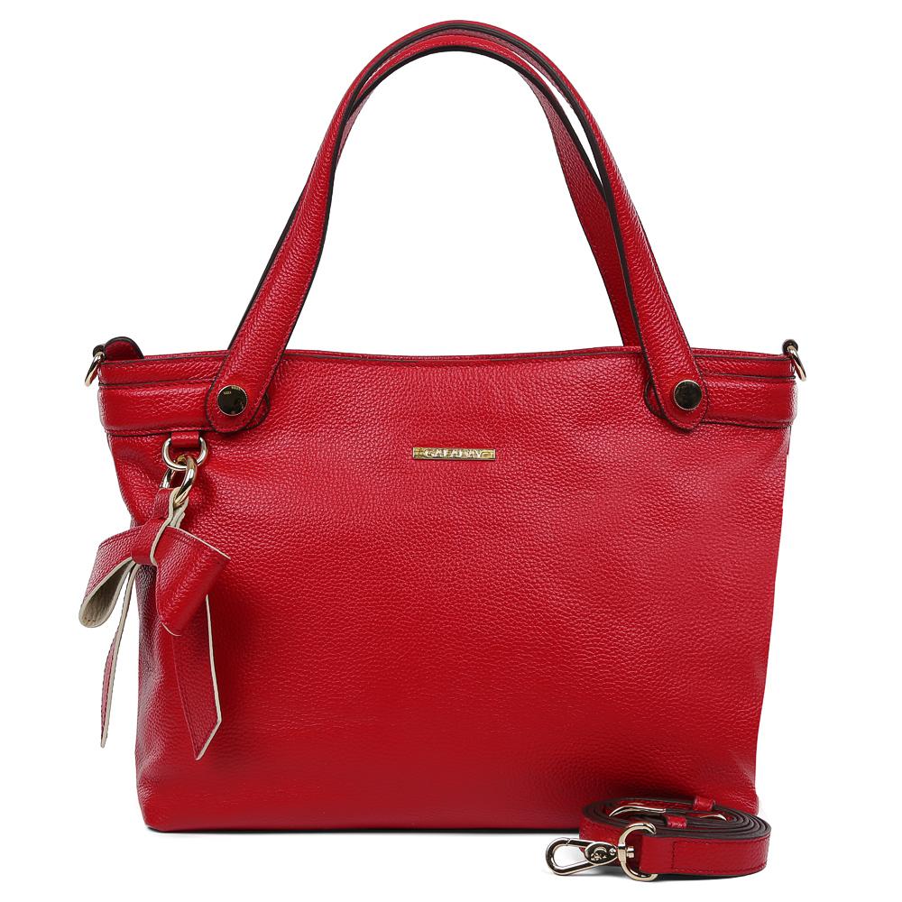 Сумка женская Galaday, цвет: красный. GD7119QGD7119Q-redЭлегантная женская сумка Galaday изготовлена из качественной натуральной кожи. Модель с одним отделением закрывается на застежку-молнию. Внутри имеются дополнительные карманы. С внешней задней стороны сумки расположен врезной карман на застежке-молнии. Сумка оснащена удобными ручками и плечевым ремнем, который можно регулировать по длине.