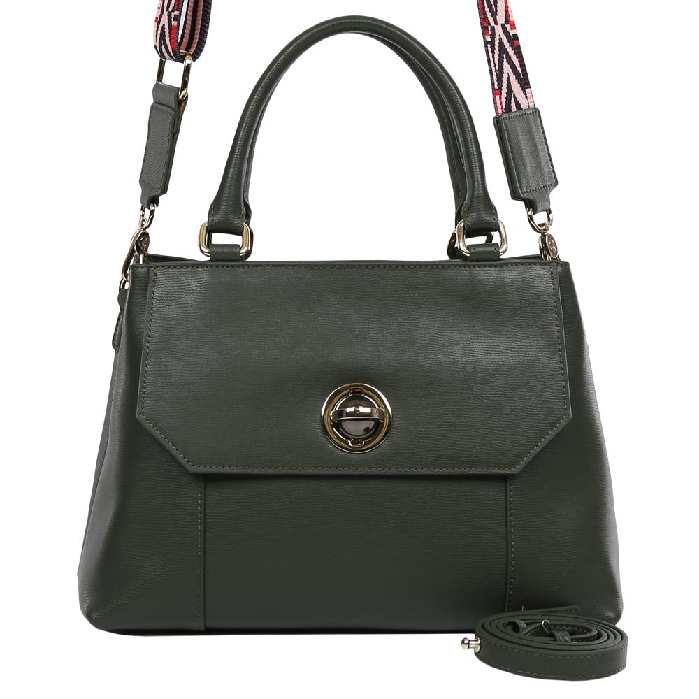 Сумка женская Galaday, цвет: зеленый. GD7138QGD7138Q-greenСумка женская бренда GALADAY из натуральной кожи