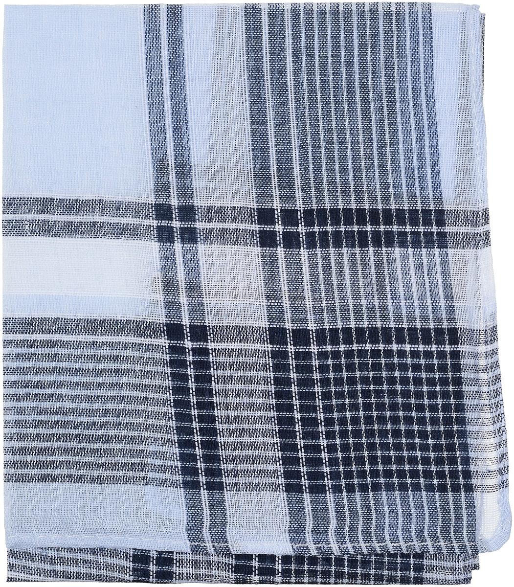 Платок носовой мужской Zlata Korunka, цвет: синий, голубой, белый. 45449. Размер 27 х 27 см45449_синий, голубой, белыйПлаток носовой мужской Zlata Korunka выполнен из 100% хлопка и имеет оригинальный дизайн, подчеркивающий ваш статус. Размер 27 х 27 см