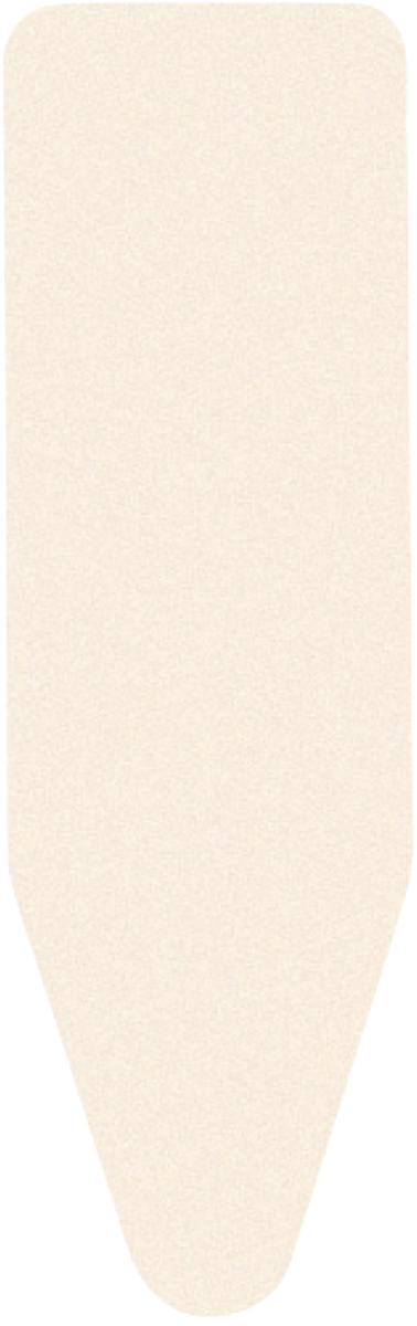 Чехол для гладильной доски Brabantia, цвет: молочный, 135 см х 49 см. 124440124440Чехол для гладильной доски Brabantia Perfect Fit, одна сторона которого выполнена из хлопка, другая - из поролона, предназначен для защиты или замены изношенного покрытия гладильной доски. Чехол снабжен стягивающим шнуром, при помощи которого вы легко отрегулируете оптимальное натяжение чехла и зафиксируете его на рабочей поверхности гладильной доски. В комплекте имеются ключ для натяжения нити и резинка с крючками для лучшей фиксации чехла. Этот качественный чехол обеспечит вам легкое глажение. Размер чехла: 135 см х 49 см. Толщина чехла: 2 мм.
