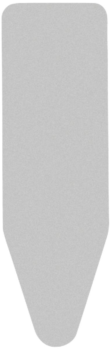 Чехол для гладильной доски Brabantia, 135 х 49 см317309Чехол для гладильной доски Brabantia подарит Вашей доске новую жизнь и создаст идеальную поверхность для глажения и отпаривания белья. Чехол разработан специально для гладильных досок Brabantia и подходит для большинства утюгов и паровых систем. Изготовлен из металлизированного хлопка и отражает тепло для быстрого глажения. Благодаря системе фиксации (эластичный шнурок с ключом для натяжения и резинка с крючками по центру) чехол легко крепится к гладильной доске, а поверхность всегда остается гладкой и натянутой. С помощью цветной маркировки на чехле и гладильной доске Вы легко подберете чехол подходящего размера. Всегда используйте этот чехол в сочетании со слоем вискозы и/или слоем поролона. Характеристики: Материал: метализированный хлопок, поролон. Размер чехла: 135 см х 49 см. Артикул: 317309. Гарантия производителя: 5 лет.