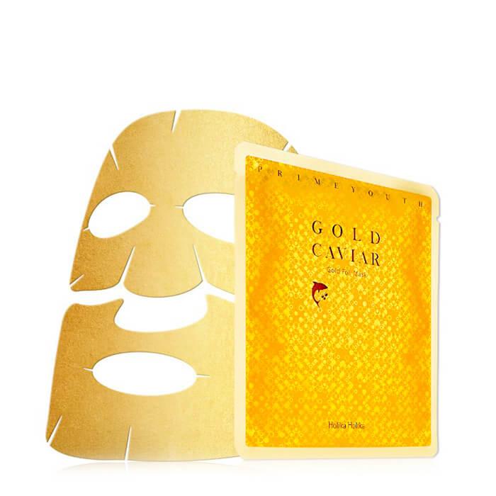 Holika Holika Антивозрастная тканевая маска Прайм Йос , 25 мл20013268Антивозрастная тканевая маска Прайм Йос с золотом. Интенсивная маска с ярко-выраженным антивозрастным эффектом, стимулирующая ативное обновление клеток. Маска придает коже гладкость, упругость и свежий, здоровы вид. Применение: подготовьте кожу, очистив ее пенкой для возрастной кожи, увлажнив тонером и нанеся антивозрастную эссенцию из одноименной серии. Достаньте маску из упаковки, приложите к лицу белой стороной и оставьте на 10-15 минту, пока фольга не начнет сворачиваться. Объём: 25 мл. Состав: Вода, экстракт икры, глицерин, бутилен гликоль, 1,2-гександиол, ниацинамид, экстракт жимолости, экстракт липы ранних плодов, экстракт грейпфрута, гидрогенезированный лецитин, диметикон, сахарозы пальмитат, ксантановая камедь, карбомер, коллоидное золото, динатрия ЭДТА, экстракт граната, экстракт женьшеня каллусной культуры, экстракт побегов рапса, дрожжевой экстракт, аденозин, гидроксид натрия, карбонат натрия, гиалуронидаза, феноксиэтанол, ароматизаторы.