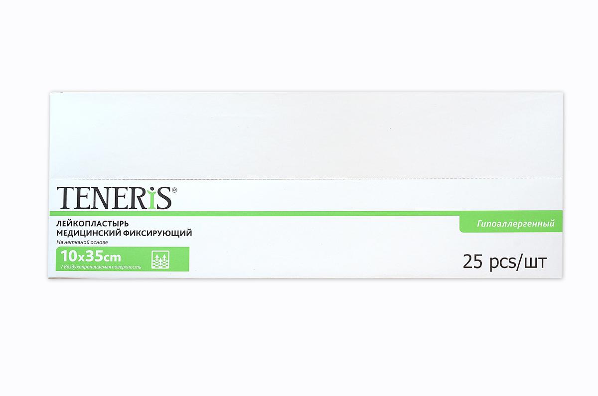 Teneris Раневая (послеоперационная) стерильная повязка на нетканной основе T-Pore, 65 х 405 х 145 мм, 50 шт95037Т-Пор - самоклеющаяся пластырная повязка с впитывающей подушечкой. Изготовлена из паро-воздухопроницаемого хирургического нетканного материала, препятствующего проникновению в рану микроорганизмов. Показания: Используется для защиты послеоперационных и острых ран в процессе их заживления от вторичной инфекции и механических раздражений, а также для фиксации катеторов и канюль. Отрывается без боли, антитравматическое покрытие раневой подушечки. Хранить в сухом, защищенном от света месте. Размер 35 х 10 см