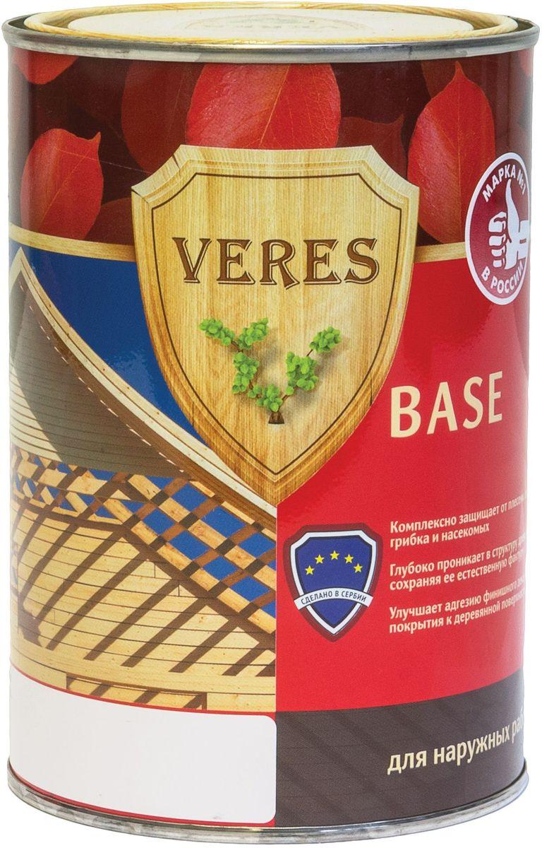 """Пропитка для дерева Veres """"База"""", 0,9 л 8606006545228"""