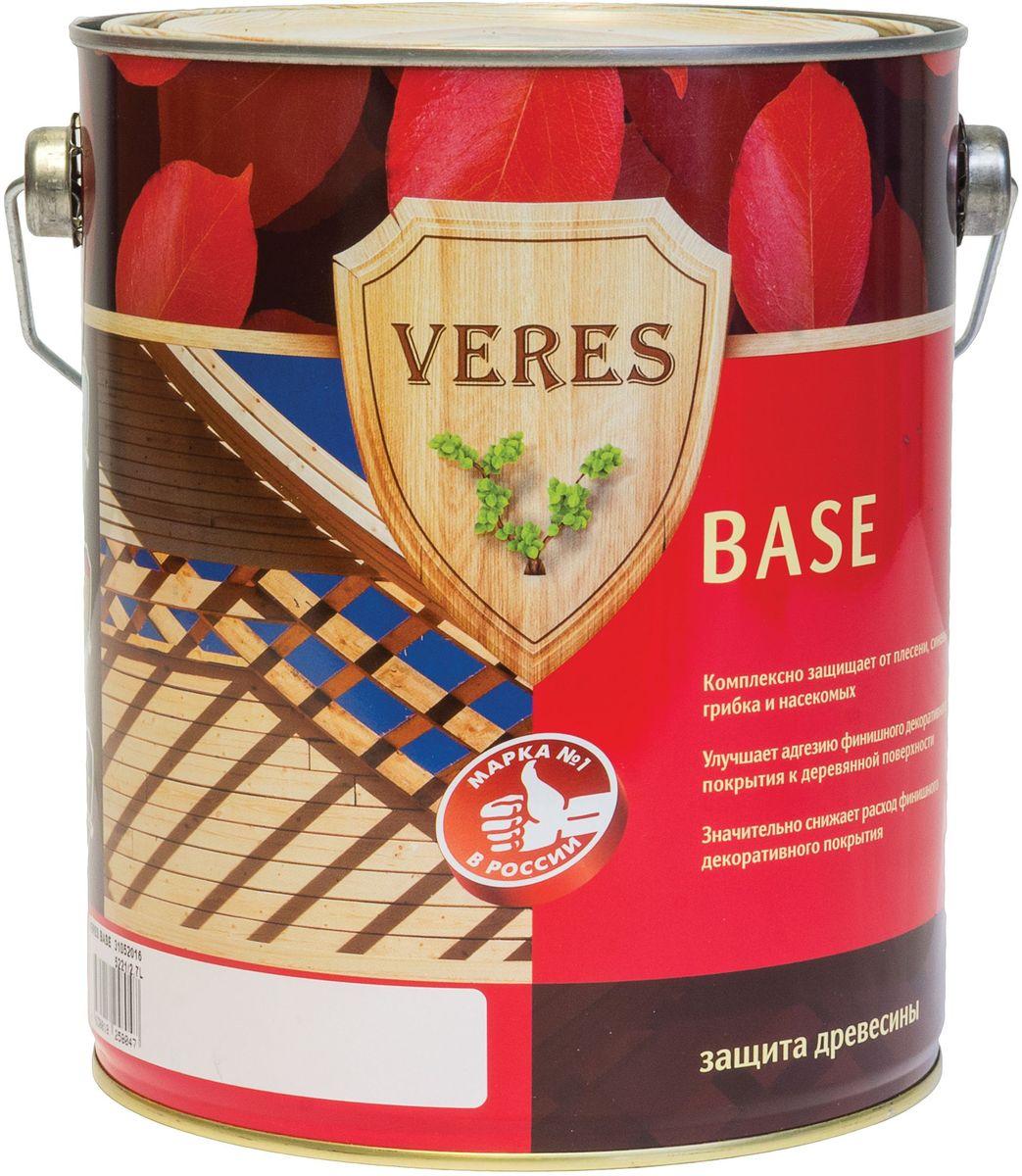 """Пропитка для дерева Veres """"База"""", 2,7 л 8606006545235"""