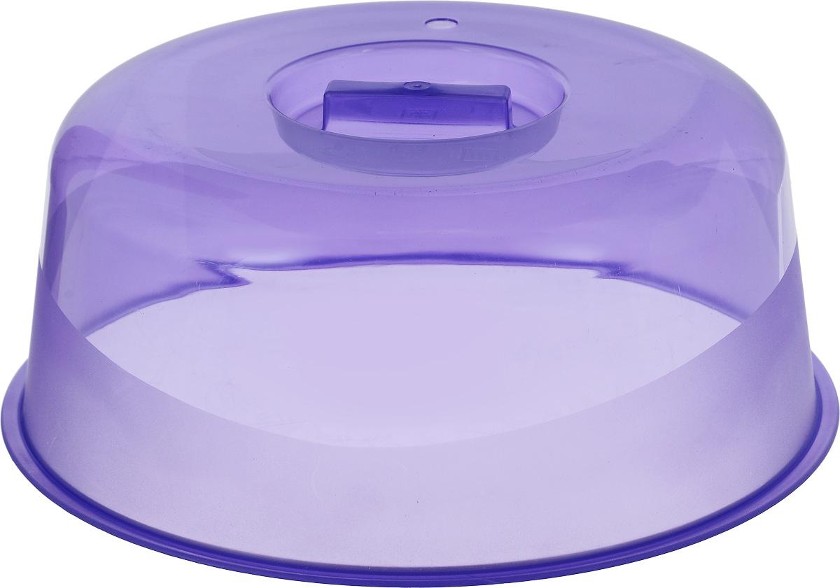 Крышка для СВЧ Альтернатива Смак, цвет: фиолетовый, диаметр 25 смМ1190_фиолетовыйКрышка для СВЧ Альтернатива Смак, изготовленная из прочного цветного пластика, оснащена ручкой. В крышке имеется небольшое отверстие для выпуска пара. Такое изделие станет отличным помощником на вашей кухне. Диаметр крышки: 25 см. Высота крышки: 10 см.