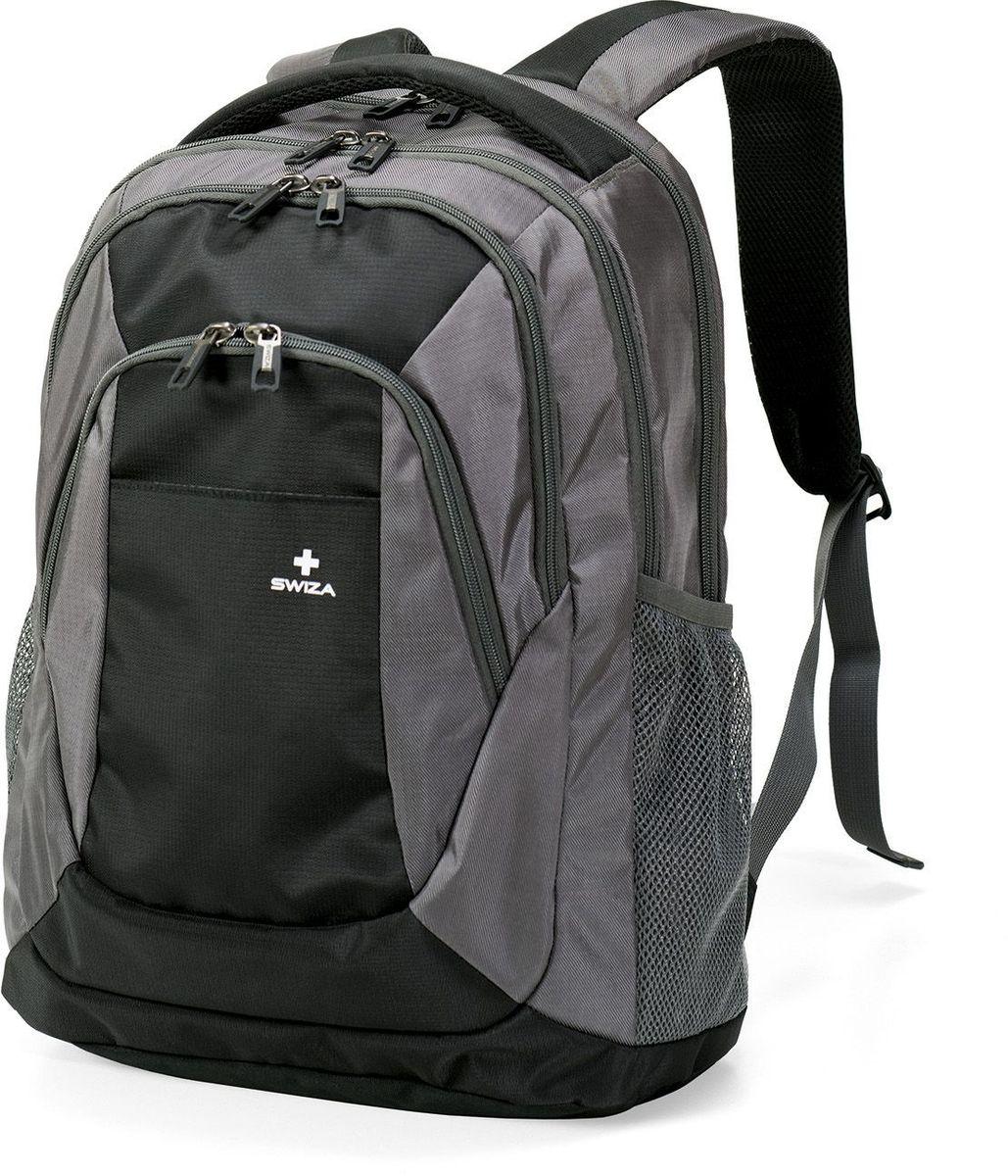Рюкзак городской SWIZA Aulus, цвет: серый, 20 лBBP.1003.01Модный двухцветный рюкзак AULUS разработан специально для стильных энергичных студентов и создан для любых испытаний студенческой жизни