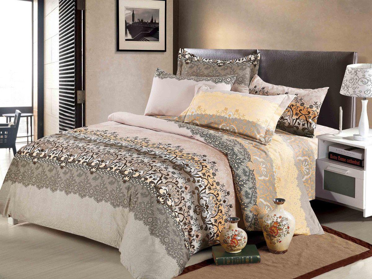 Комплект белья Cleo Альба, 2-спальный, наволочки 70х7020/076-PS