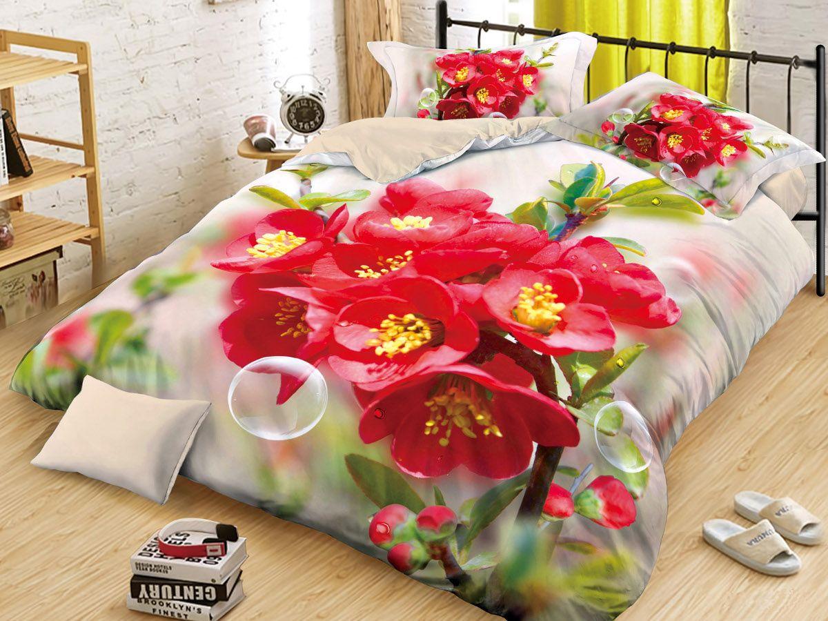 Комплект белья Cleo Цветущая Айва, 2-спальный, наволочки 70х7020/087-PS