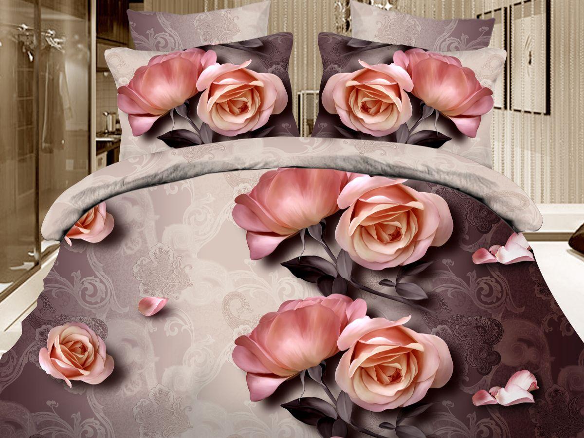Комплект белья Cleo Кофе Брейк, семейный, наволочки 50х70, 70х7041/094-PS