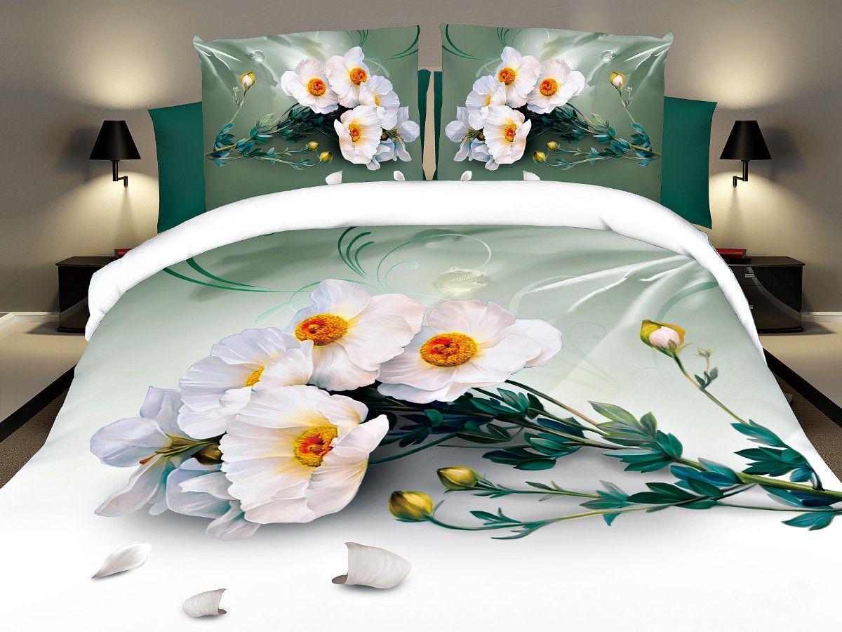 Комплект белья Cleo Невинность, 2-спальный, наволочки 70х7020/096-PSКомплект постельного белья из полисатина Cleo - это шелковая прохлада в любое время года! Тонкое, средней плотности, с шелковистой поверхностью и приятным блеском постельное белье устойчиво к износу, не выгорает, не линяет, рассчитано на многократные стирки. Двойная скрутка волокон позволяет получать довольно плотный, прочный на разрыв материал. Легко отстирывается, быстро сохнет и самой важно для хозяек - не мнется! Комплект состоит из пододеяльника, простыни и двух наволочек.