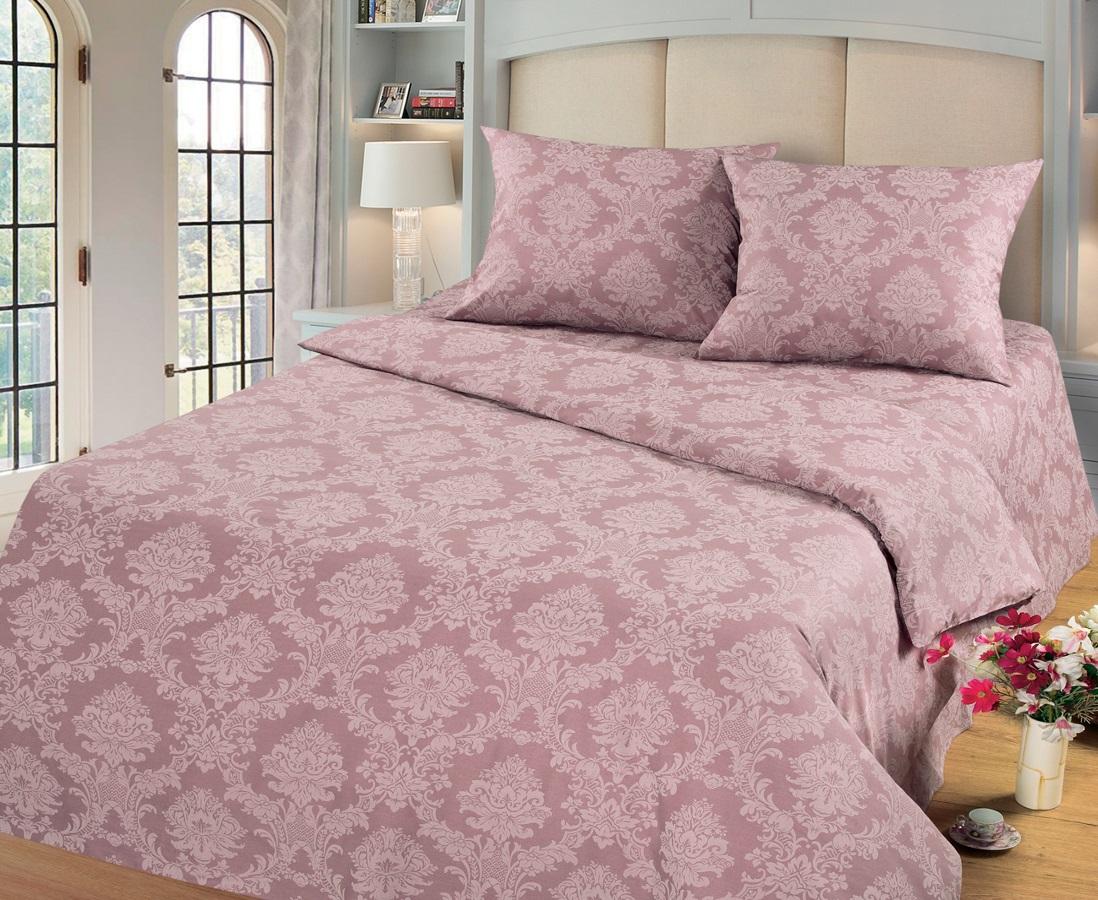 Комплект белья Cleo Топаз, 2-спальный, наволочки 70х70, цвет: темно-розовый20/003-PGКомплект постельного белья Cleo выполнен из поплина в романтическом стиле, визуально текстура нанесения рисунка напоминает жаккард. Поплин - 100% хлопок, ему характерен репсовый эффект, который образуется методом чередования толстых и тонких нитей, в результате на поверхности появляются рубчики, создавая неравномерность полотна. Постельное белье из поплина обладает рядом преимуществ: мягкое и шелковистое, натуральное, экологически чистое, гипоаллергенное, прочное, не деформируется, не растягивается и держит форму, пропускает воду и воздух, прекрасно стирается в прохладной воде. Комплект состоит из пододеяльника, проПододеяльник, простыня, 2 наволочки стыни и двух наволочек.