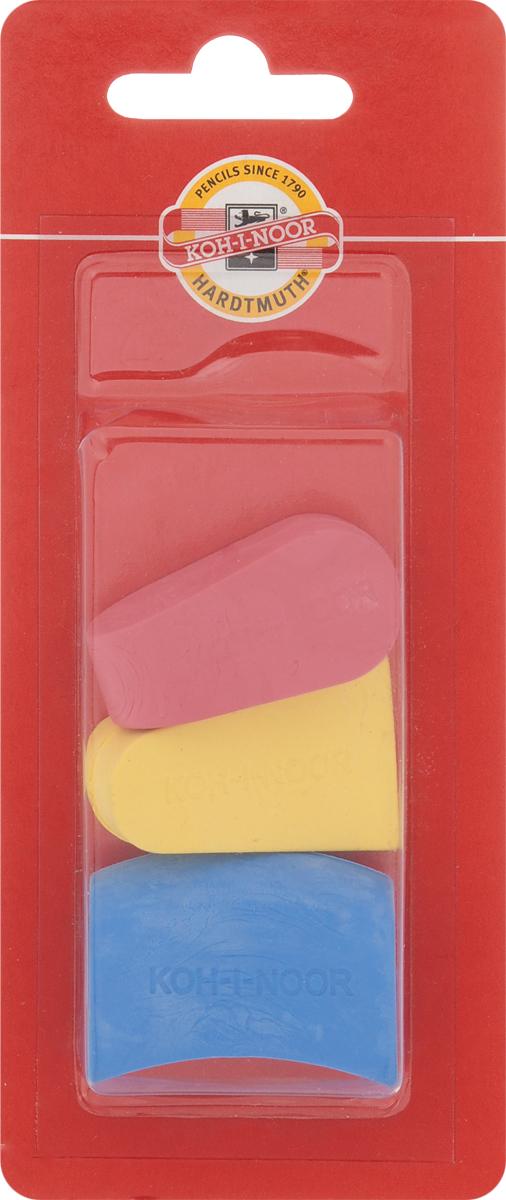 Koh-i-Noor Набор ластиков цвет красный желтый синий 3 шт6222_красный, желтый, синийЛастики Koh-i-Noor идеально подходят для применения как в школе, так и в офисе. Ластики обеспечивают высокое качество коррекции, не повреждают поверхность бумаги, даже при сильном трении не оставляют следов. Абсолютно безопасны, не токсичны и экологичны. В упаковке 3 ластика.