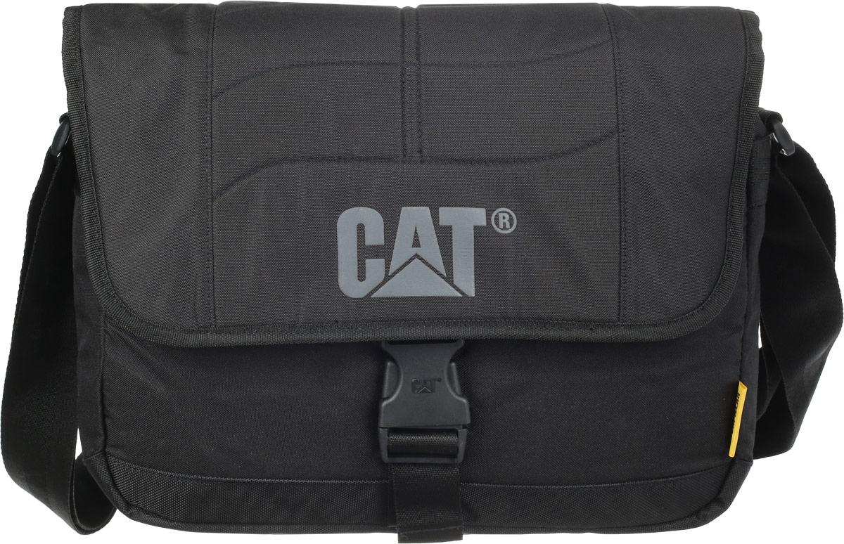 """Сумка на плечо Caterpillar """"Caine"""", цвет: черный, 10 л 83111-01"""