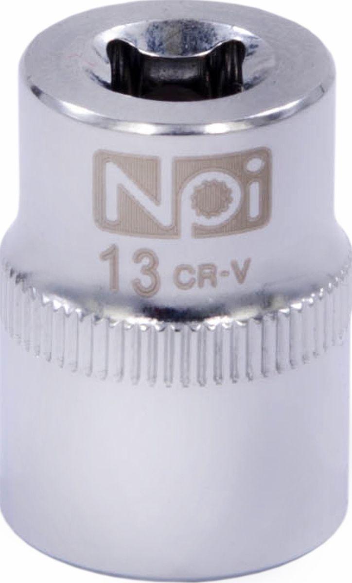 Головка торцевая NPI SuperLock, 1/4, 13 мм20231Головка торцевая NPI 1/4. Тип 1/4. Торцевая головка NPI применяется с гайковертами, трещетками, воротками. Торцевая головка выполнена по технологии Суперлок. Торцевая головка обеспечивает максимальный крутящий момент по отношению к резьбе и выдерживает ударные нагрузки. Материал - высокопрочная хром-ванадиевая сталь. Соответствует стандарту DIN 3124.