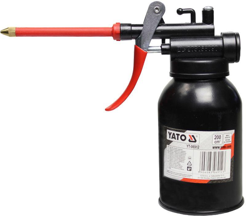 Масленка-нагнетатель Yato, 0,2 лYT-06912Масленка-нагнетатель Yato, объем 0,2 л.
