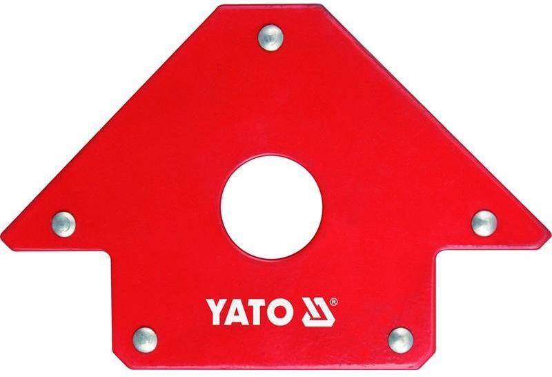 """Струбцина магнитная """"Yato"""", для сварки, 102х155х17 мм YT-0864"""