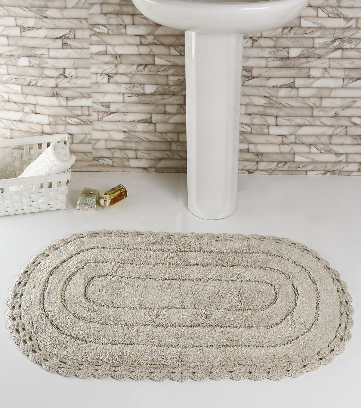Коврик для ванной Karna Modalin. Yana, цвет: бежевый, 60 х 100 см5025/CHAR002