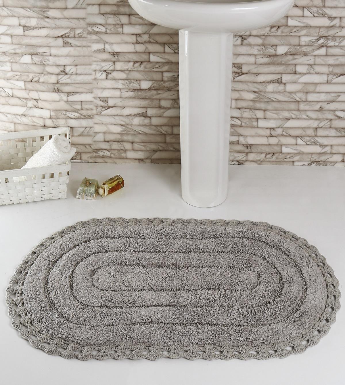 Коврик для ванной Karna Modalin. Yana, цвет: серый, 60 х 100 см5025/CHAR008