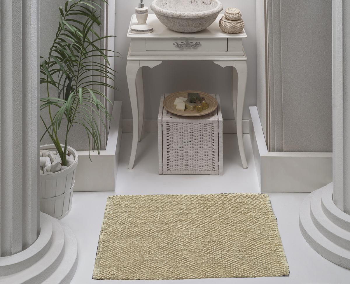 Коврик для ванной Karna Modalin. Alven, цвет: бежевый, 50 х 70 см5034/CHAR001