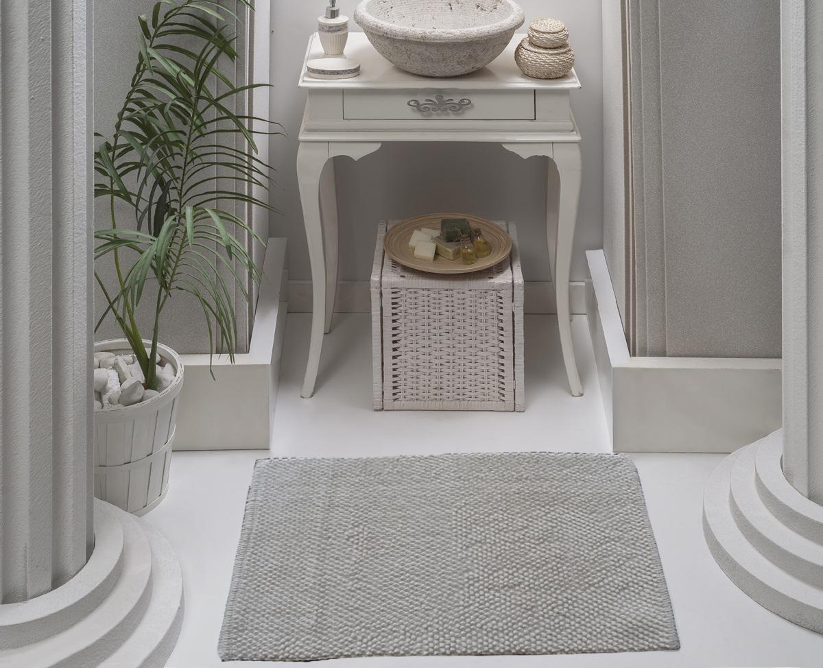 Коврик для ванной Karna Modalin. Alven, цвет: белый, 50 х 70 см5034/CHAR002