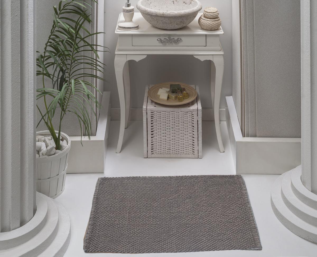 Коврик для ванной Karna Modalin. Alven, цвет: коричневый, 50 х 70 см5034/CHAR003