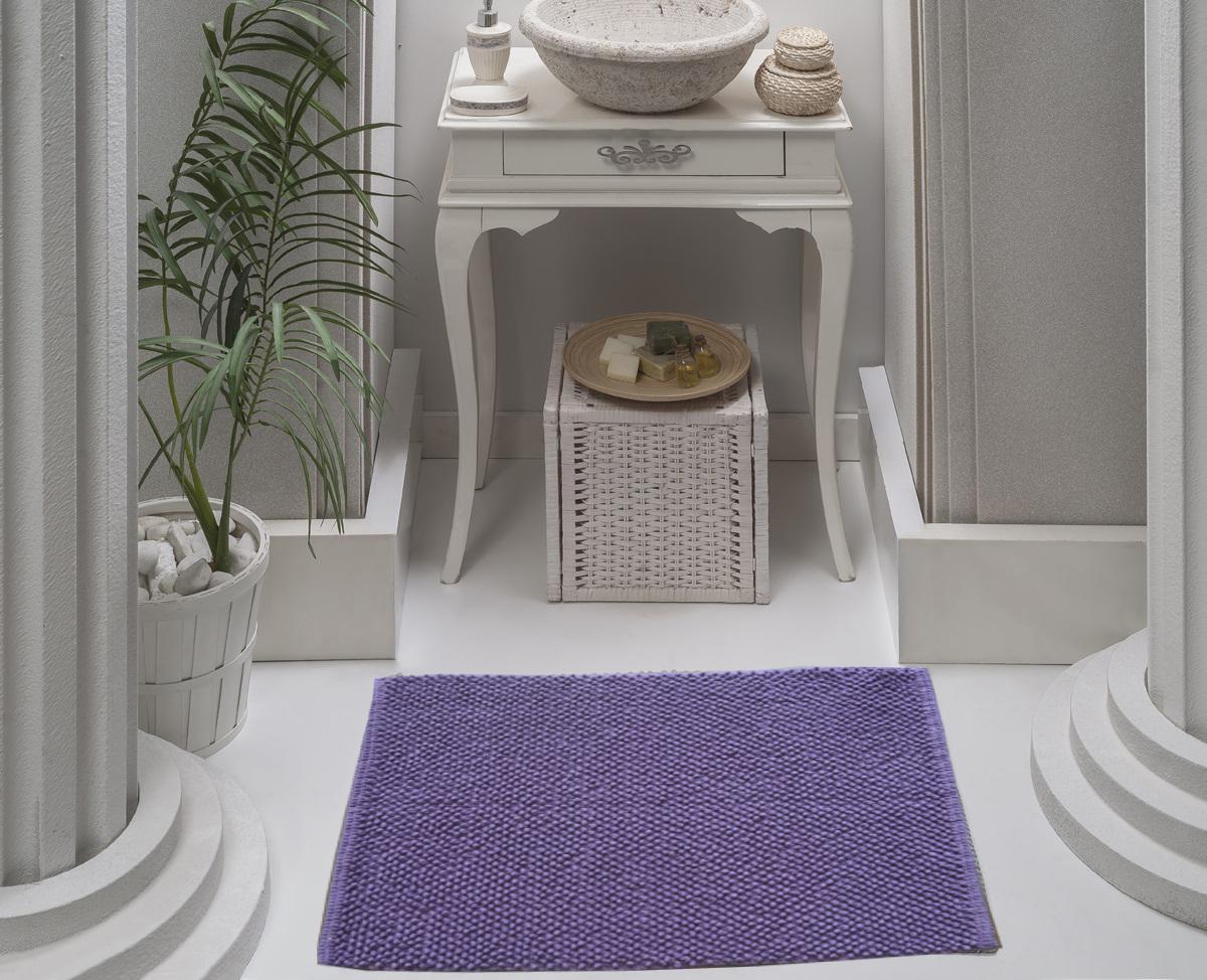 Коврик для ванной Karna Modalin. Alven, цвет: фиолетовый, 50 х 70 см5034/CHAR008