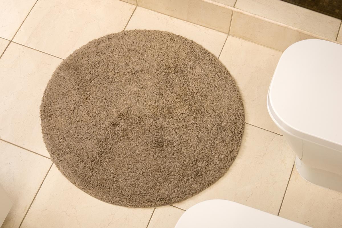 Коврик для ванной Karna Modalin. Corcus, цвет: коричневый, 75 х 75 см5041/CHAR001