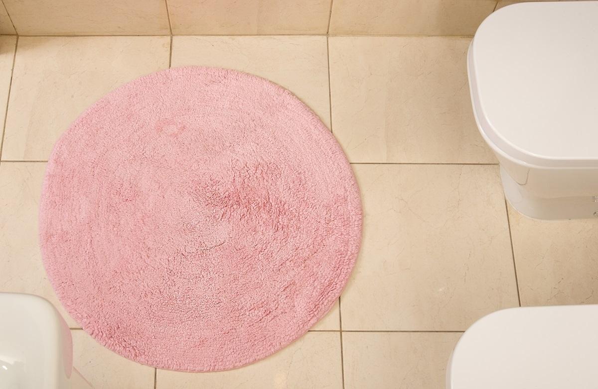 Коврик для ванной Karna Modalin. Corcus, цвет: розовый, 75 х 75 см5041/CHAR003