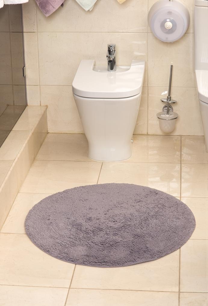 Коврик для ванной Karna Modalin. Corcus, цвет: фиолетовый, 75 х 75 см5041/CHAR005