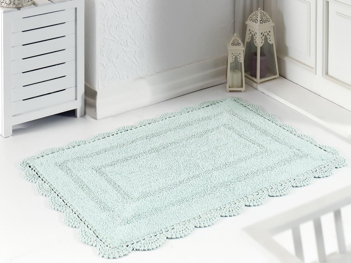 Коврик для ванной Karna Modalin. Evora, цвет: светло-зеленый, 60 х 100 см5089/CHAR006
