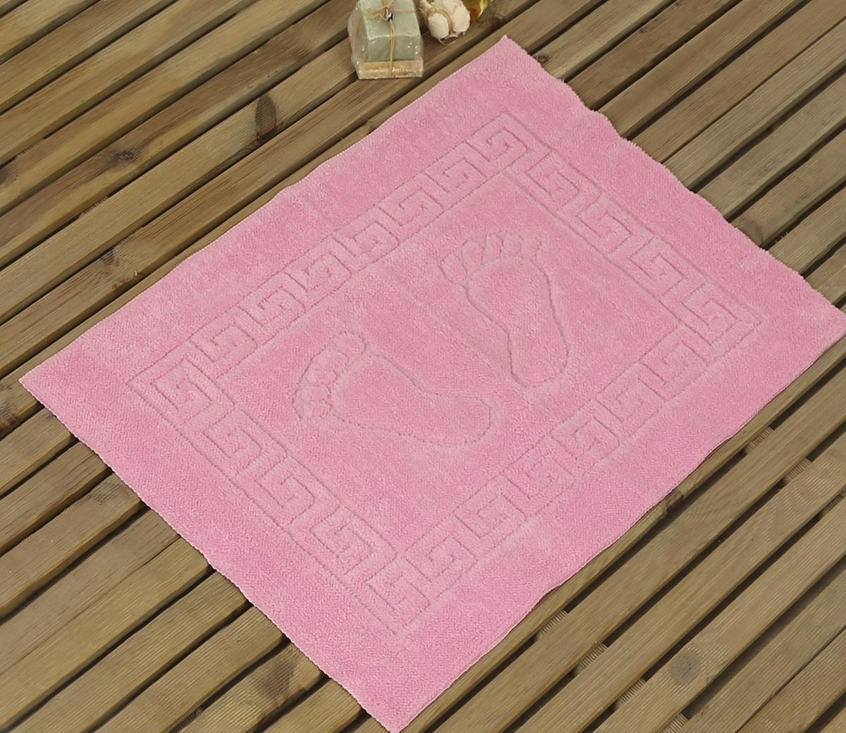 Коврик для ванной Karna Likya , цвет: розовый, 50 х 70 см631/CHAR004