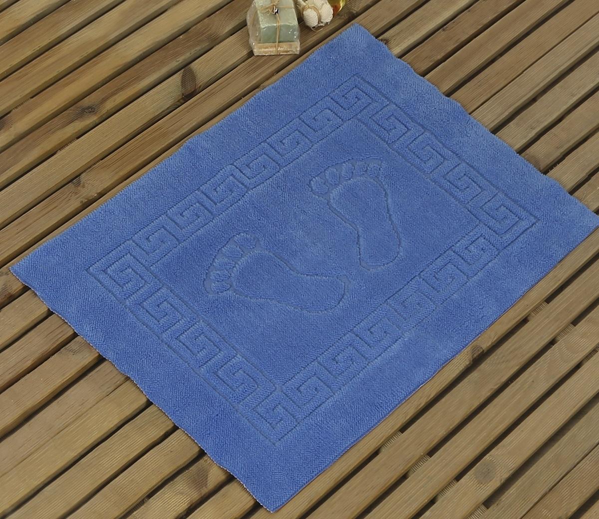 Коврик для ванной Karna Likya , цвет: голубой, 50 х 70 см631/CHAR005
