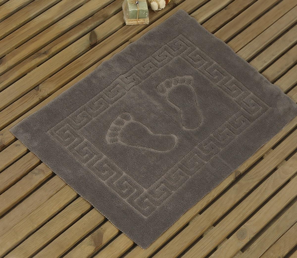 Коврик для ванной Karna Likya , цвет: серый, 50 х 70 см631/CHAR011