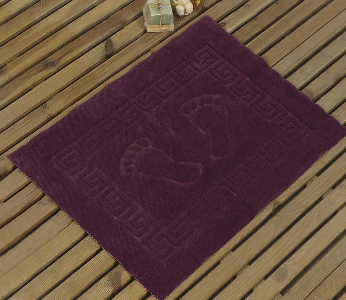 Коврик для ванной Karna Likya , цвет: фиолетовый, 50 х 70 см631/CHAR013