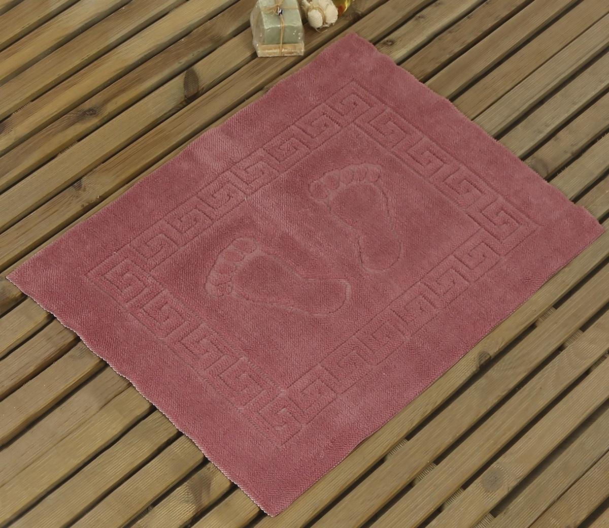 Коврик для ванной Karna Likya , цвет: пепельная роза, 50 х 70 см631/CHAR020