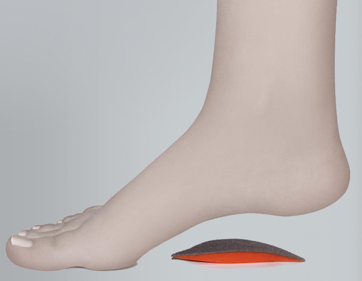 Timed Супинатор силиконовыйTI-016 р-р3TI-016 р-р3Супинатор силиконовый TI-016 поддерживает внутренний продольный свод стопы Особенности: состав: 100% медицинский силикон, тканевая основа поддерживает внутренний продольный свод стопы создает комфортные условия при ходьбе подходит для всех типов обуви в упаковке 2 шт