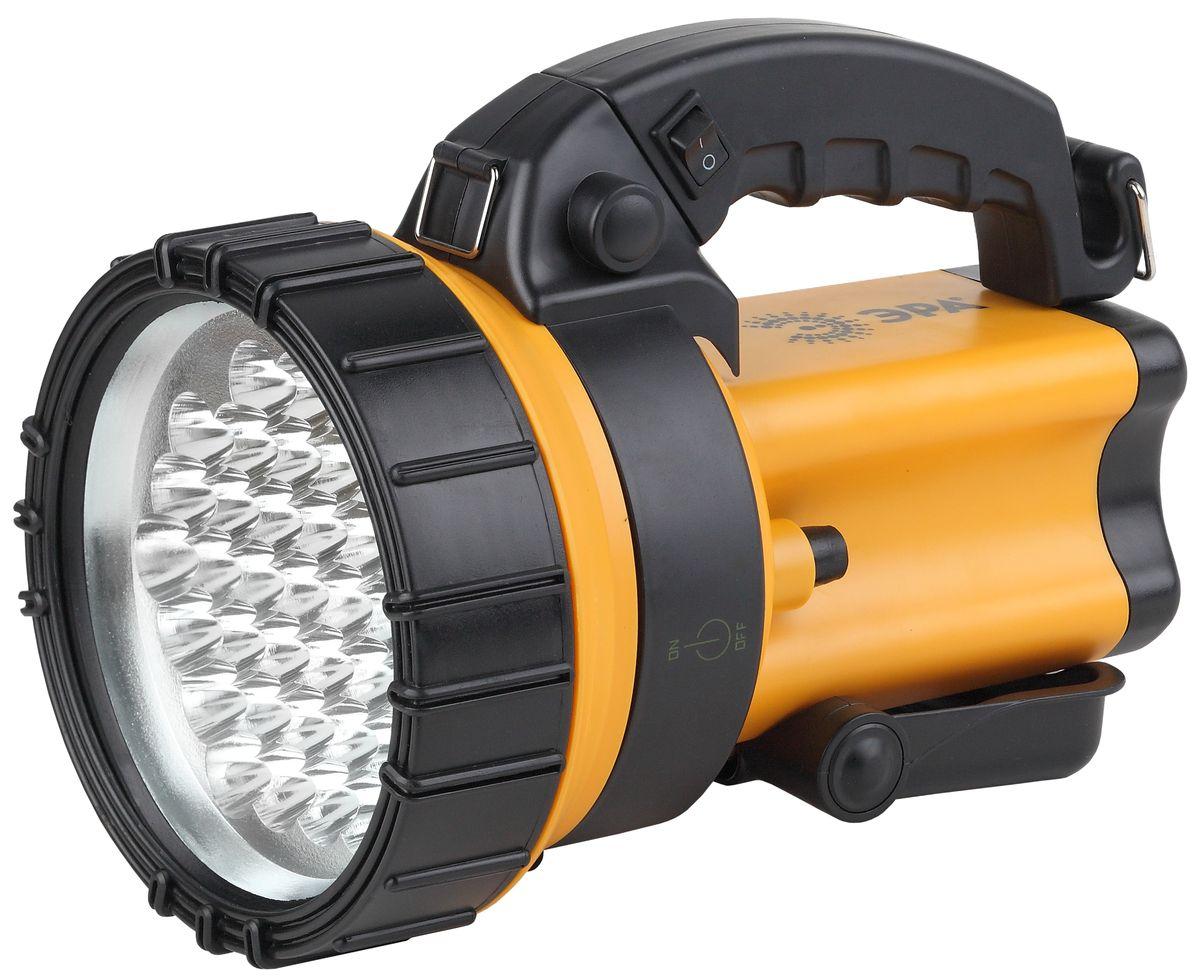 Фонарь ручной ЭРА, 36xLED, аккумулятор 4.5Ah, ЗУ 220V+12VFA37MАккумуляторный светодиодный прожектор: 36 белых LED Аккумулятор 4V 4.5Ah (AC3, DT4045) подзарядка от сети 220V и бортовой сети автомобиля 12V ремень для переноски на плече.