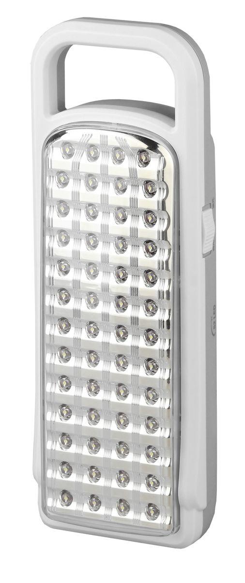 Фонарь ручной Трофи, 52xLED, аккумулятор 4V3Ah, ЗУ 220VTL52Аккумуляторный светодиодный фонарь: 52 белых LED 2 режима работы Аккумулятор 4V 3Ah подзарядка от сети 220V