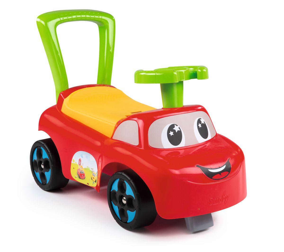 Smoby Машинка-каталка цвет красный 443015