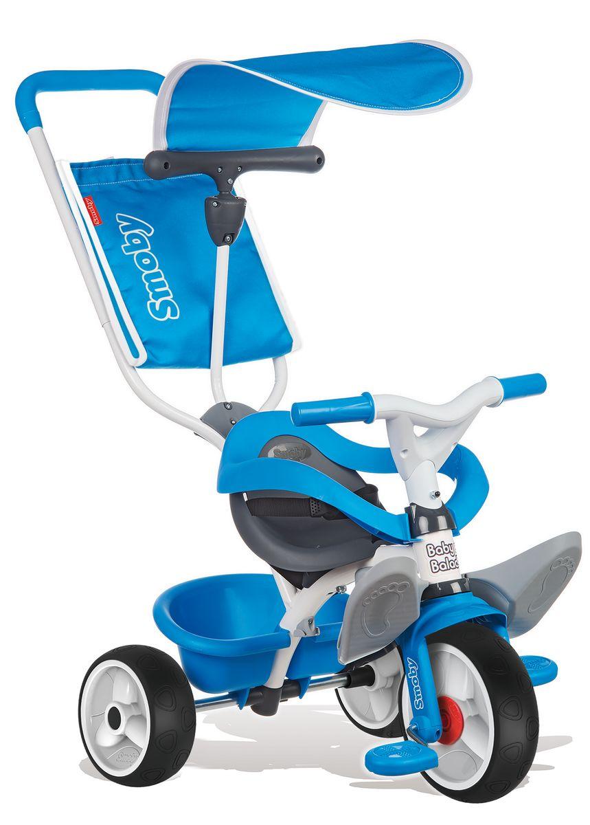 Smoby Велосипед трехколесный Balade цвет синий 444208