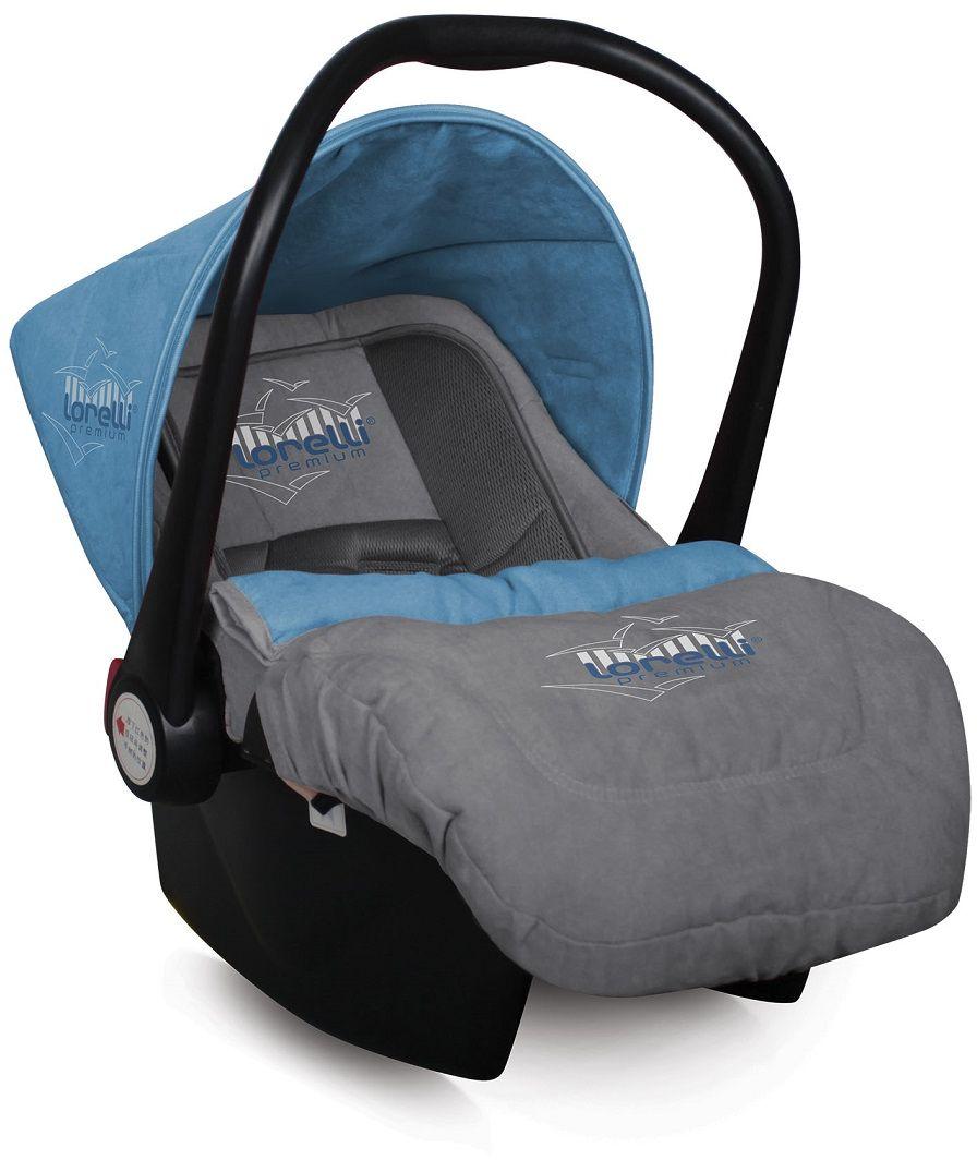 Lorelli Автокресло-переноска Lifesaver цвет синий серый от 0 до 13 кг