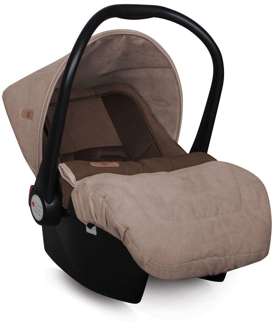 Lorelli Автокресло-переноска Lifesaver цвет бежевый коричневый от 0 до 13 кг