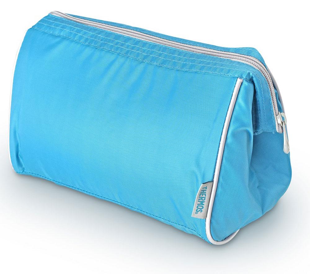 Термосумка Thermos Storage Kit, цвет: голубой, 4,5 л468758Способна вместить довольно большой объем кремов , мазей, медикаментов и других препаратов не предназначенных для хранения в тепле. По желанию, для усиления охлаждающего эффекта возможно применение замороженных аккумуляторов температуры THERMOS Gel Pack™.
