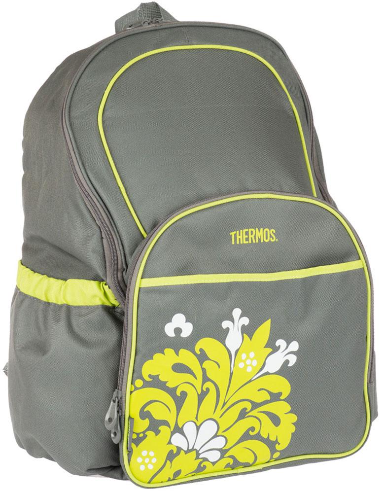 Термосумка Thermos Diaper, цвет: серый, 30 л548795Удобный рюкзак - термос для мамы, с пеленкой для малыша.