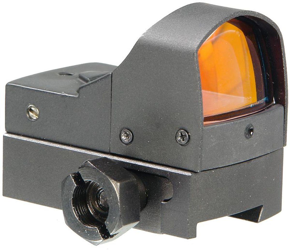 Прицел коллиматорный Veber, RM123 DVT1123003Коллиматорный прицел открытого типа, устанавливается на ласточкин хвост шириной до 11 мм, размер окошка 23x17 мм, прицельная марка - красная точка. ОПИСАНИЕ Серия Veber RM123, является модернизированной версией коллиматорного прицела Veber R123. Изменена конструкция основания прицела, что позволило значительно увеличить срок службы и надежность работы изделия при длительной эксплуатации на оружии большой мощности. Увеличилась длина поджимной планки до 46 мм в версии на Weaver и до 15 мм в DVT. Исключены любые смещения при мощной отдаче, обеспечена высокая стабильность положения прицельной метки. Самый маленький, но серьезный коллиматорный прицелVeber RM123 DVT11. Корпус — анодированный матовый алюминий марки 6061-Т6. Светящаяся точка — 6 угловых минут, зона, покрываемая точкой, — 8 см на 50 м. Благодаря увеличению 1х (точнее 1,07х), прицел обладает большим полем зрения, а асферическая оптика не искажает видимую картинку. Прицел оборудован световым...