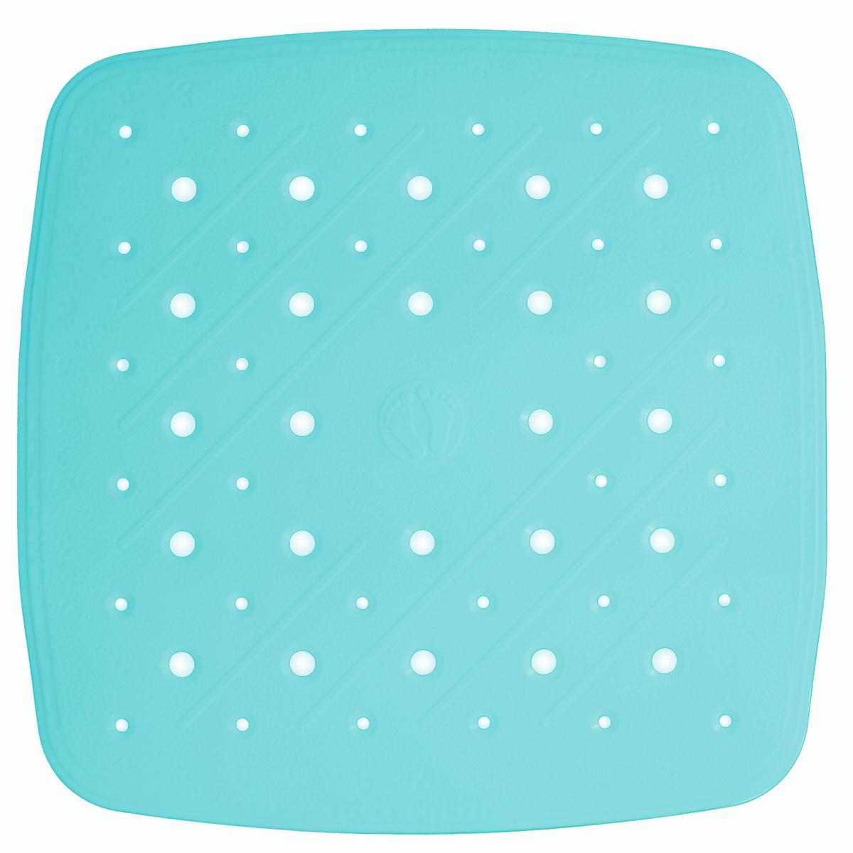 Коврик для ванной Ridder Promo, противоскользящий, на присосках, цвет: голубой, 51 х 51 см167903Высококачественный немецкий коврик Ridder Promo создан для вашего удобства. Состав и свойства противоскользящего коврика: - синтетический каучук и ПВХ с защитой от плесени и грибка; - имеются присоски для крепления. Безопасность изделия соответствует стандартам LGA (Германия).